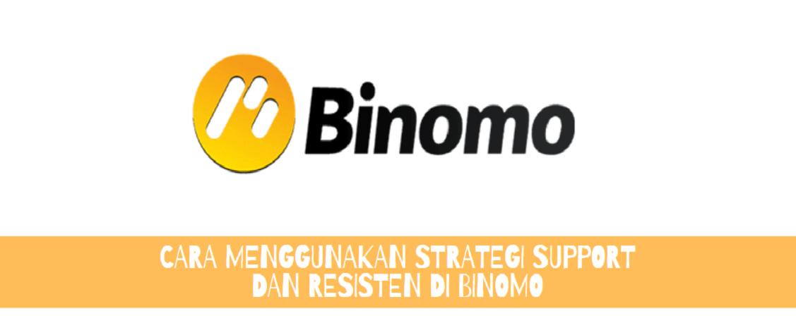 Cara Menggunakan Strategi Support dan Resisten di Binomo