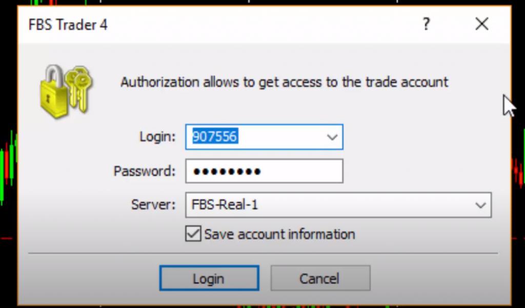 masukan username ,server dan password