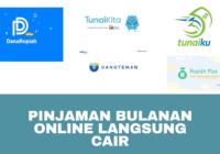 Pilihan Terbaik Pinjaman Bulanan Online Langsung Cair