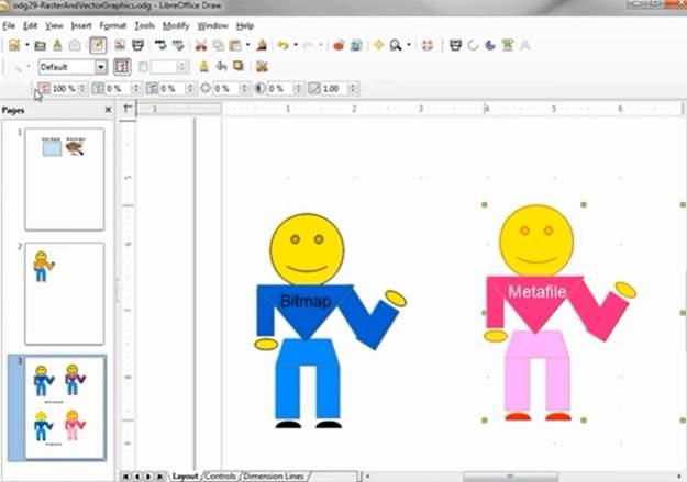 Software Gratis Sama Dengan CorelDraw Apache OpenOffice Draw