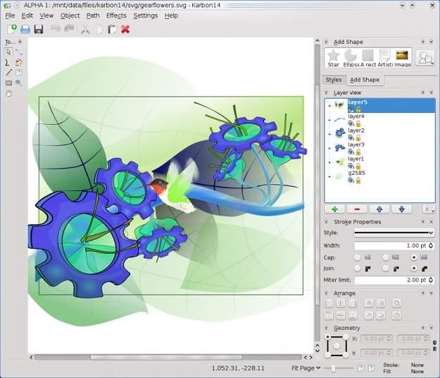 Software Gratis Sama Dengan CorelDraw Karbon