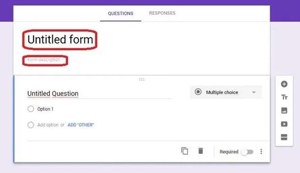 Cara Membuat dan Contoh Microsoft Form 2